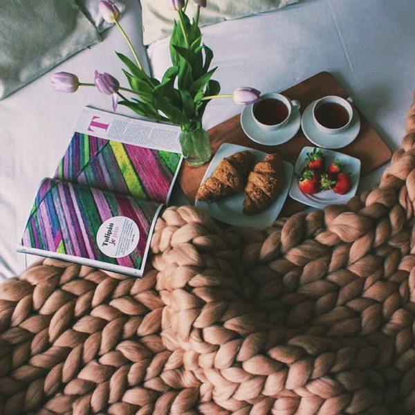 Luxusní deka z Merino vlny