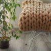 Pletený přehoz