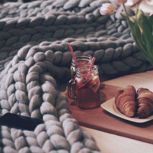 Vlněná deka Merino