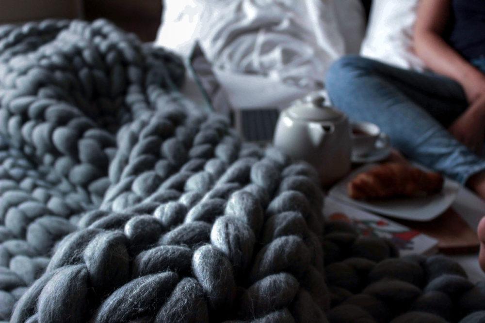 Luxusní Merino deka