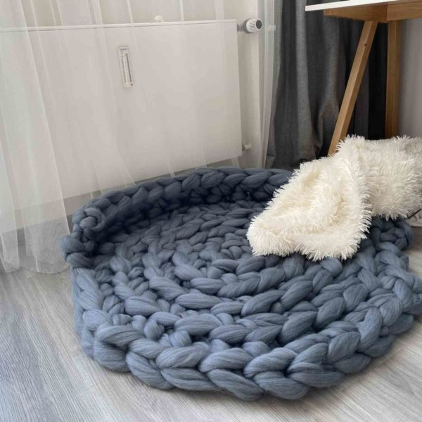 Pelíšek z ovčí merino vlny