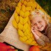 Merino deka podzimní hořčicová