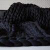 Gigantická hrubá deka z vlny