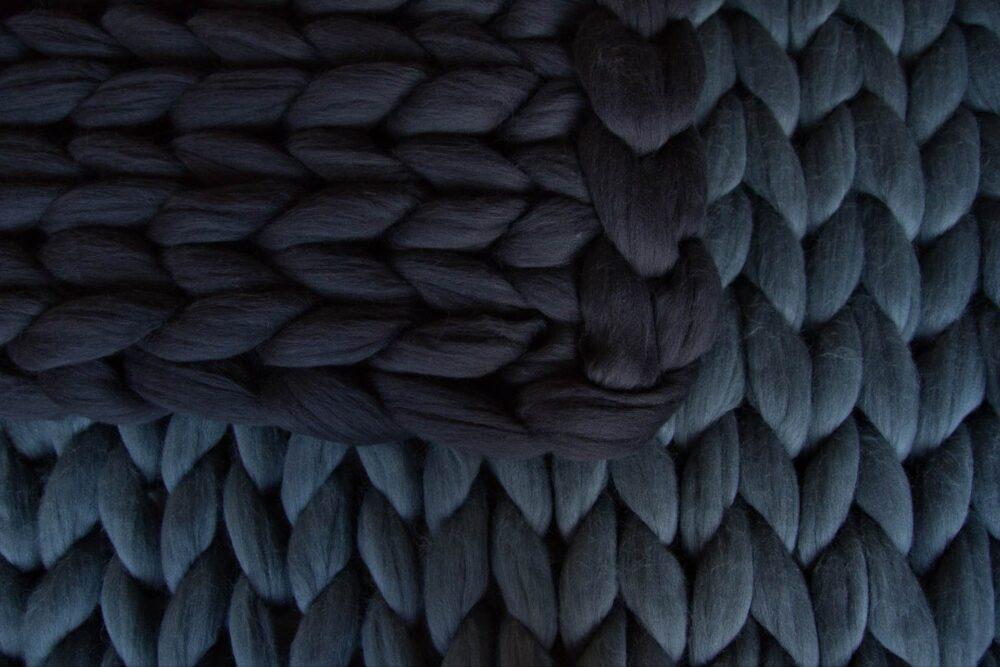 Obří pletené deky Woolope